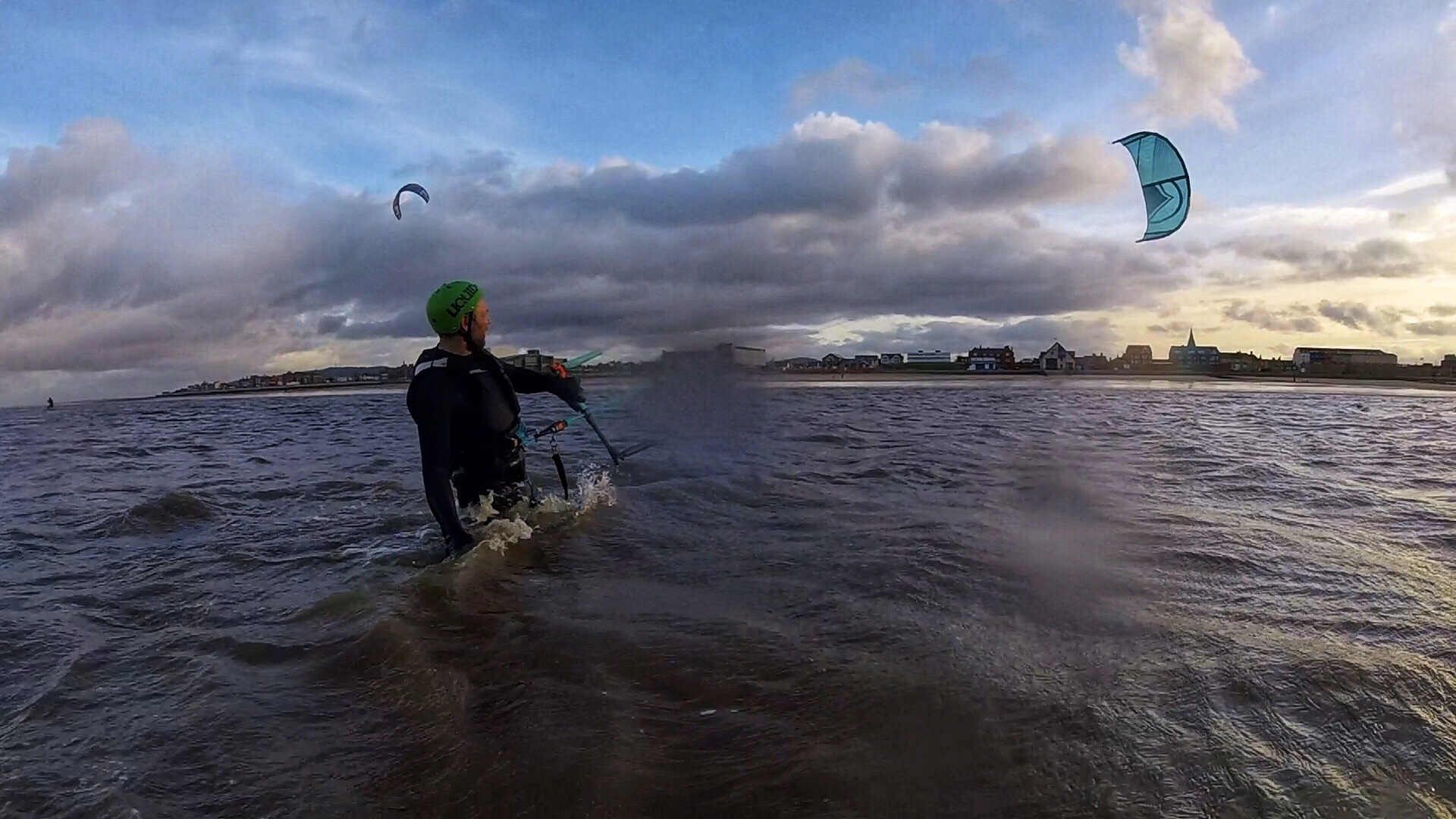 Kitesurfing in North East Wales